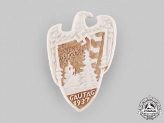 Germany, Third Reich. A 1937 Bayerische Ostmark Gautag Badge, by F. Thomas