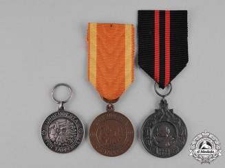 Finland, Republic. A Lot of Three Medals
