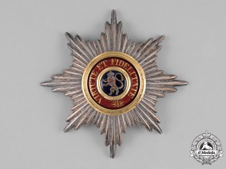 Hesse-Kassel, Landaggrivate. A Houseorder of the Golden Lion, Grand Cross Star (Collectors Copy)