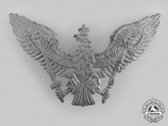 Germany, Imperial. An Imperial Pickelhaube Eagle Plate (Collectors Copy)
