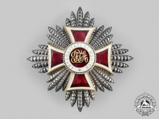 Austria, Imperial. An Order of Leopold, I Class Star (Rothe Copy)