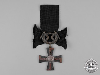 Finland, Republic. An Order of the Cross of Liberty, Mourning Cross