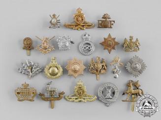 United Kingdom. A Lot of Twenty Cap Badges