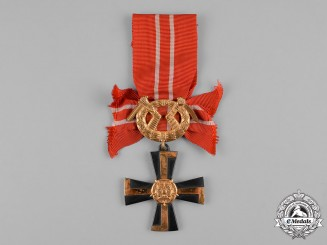 Finland, Republic. An Order of the Cross of Liberty, III Class, Military Division