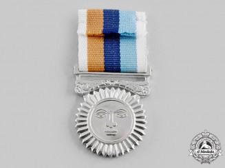 Sri Lanka, Democratic Socialist Republic. A Riviresa Campaign Services Medal, c.1960