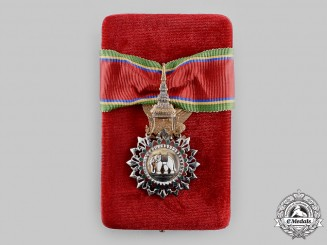 Thailand, Kingdom. A Most Exalted Order of the White Elephant, III Class Commander, c.1960