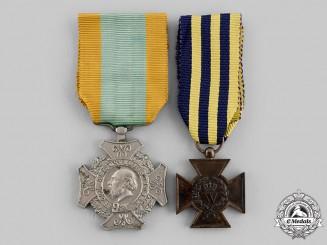 Netherlands, Kingdom. Two Awards, c.1870