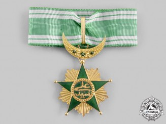 Comoros Islands, Union. An Order of the Star of Grand Comoro, II Class Commander, by Arthus Bertrand