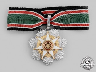 Jordan, Kingdom. An Al-Hussein Order of Military Merit, II Class Commander, c.1980