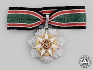 Jordan, Kingdom. An Al-Hussein Order of Military Merit, II Class Commander, c.1980