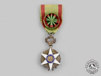France, III Republic. An Order of Agricultural Merit, II Class Officer, c.1950