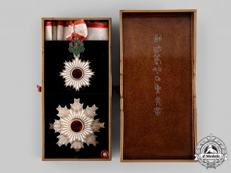 Japan, Imperial. An Order of the Rising Sun, II Class, c.1920