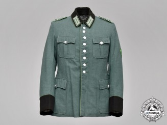 Germany, Ordnungspolizei. A Protection Police Meister NCO Tunic, by G. Assmann