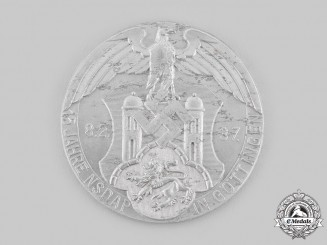 Germany, NSDAP. A 1937 Göttingen NSDAP 15th Anniversary Table Medal
