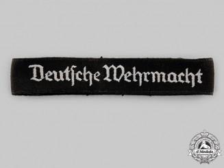 Germany, Third Reich. A Deutsche Wehrmacht Cuff Title