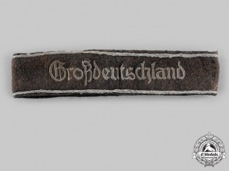 Germany, Heer. A Panzergrenadier Division Großdeutschland Cuff Title, first pattern