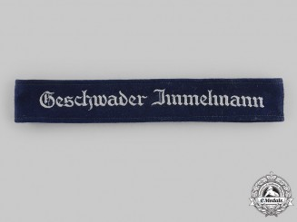 Germany, Luftwaffe. A Geschwader Immelmann Flying Wing Cuff Title