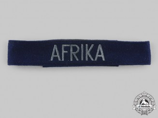 Germany, Luftwaffe. An Afrika EM/NCO Cuff Title