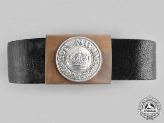 Germany, Imperial. An Imperial German Army EM/NCO's Belt and Buckle