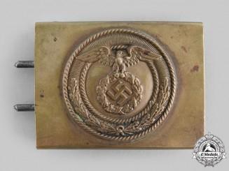 Germany, NSKK. A National Socialist Motor Corps (NSKK) School Personnel Belt Buckle