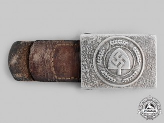 Germany, RAD. A Reich Labour Service (RAD) EM/NCO's Belt Buckle, by Friedrich Linden