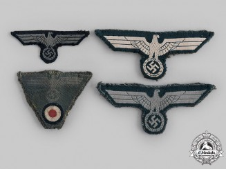 Germany, Heer. A Lot of Heer Eagle Insignia