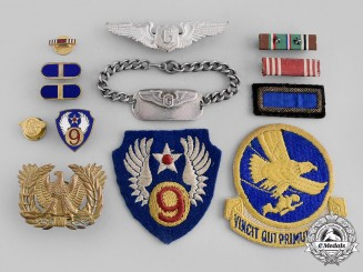 United States. An Army Air Force Glider Pilot Group with English Manufactured Wing