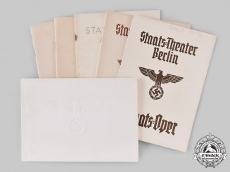 Germany, Third Reich. A Lot of Theatre Programmes