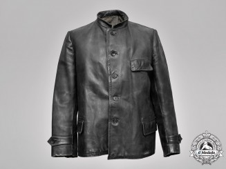 Germany, Kriegsmarine. An Engine Personnel Leather Uniform