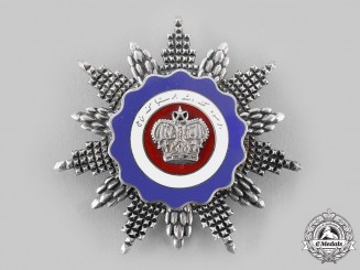 Malaysia, Constitutional Monarchy. A Most Esteemed Order of the Crown, Commander, by Garrard, c.1965