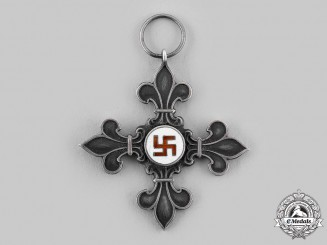 Latvia, Republic. A Boy Scout Cross c.1935