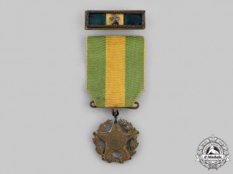 Brazil, Federative Republic. A Military Long Service Medal, I Class for Thirty Years' Service