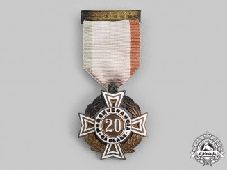 Mexico, Republic. A Cross of Perseverance, IV Class for Twenty Years' Service, c.1930