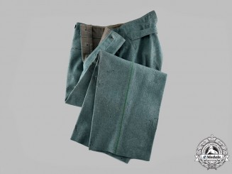 Germany, Ordnungspolizei. A Pair of Protection Police Trousers, c.1942