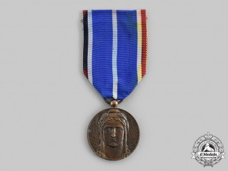 France, III Republic. A Military Medal for the Occupation of the Rhineland, c.1925