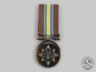 South Africa, Commonwealth. A Venda Police Combating Terrorism Medal, Named, c.1985