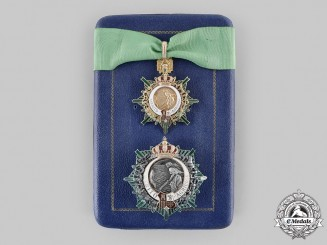 Spain, Transition. An Order of Agricultural Merit, Grand Commander with Case, by M. Cejalvo, c.1950