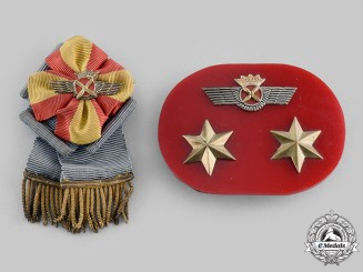 Spain, Franco. A Lot of Two Spanish Air Force Badges, c.1950