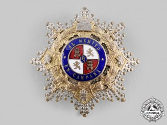Spain, Franco. A War Cross for Senior Officers, c.1950
