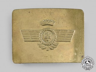 Spain, Civil War. An Air Force Legion Condor Belt Buckle c.1936