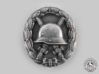 Germany, Imperial. A 1918 Wound Badge, Silver Grade, in Silver