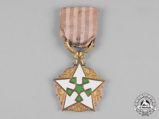 Syria, Republic. An Order of Civil Merit, IV Class, Type II