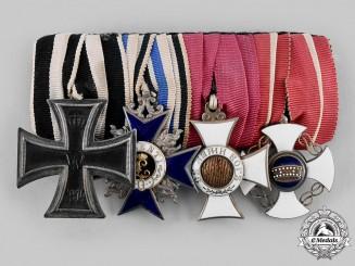 Germany, Imperial. A Four Piece EK Medal Bar