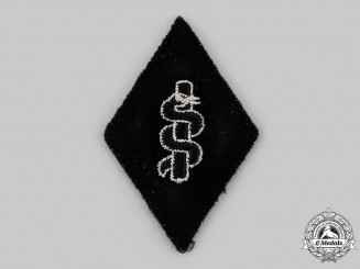 Germany, SS. An SS Medical Service Orderly Sleeve Diamond