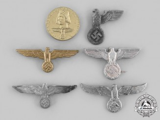 Germany, Third Reich. A Lot of Cap Insignia