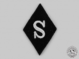 Germany, SS. A Technical Sergeant Sleeve Diamond