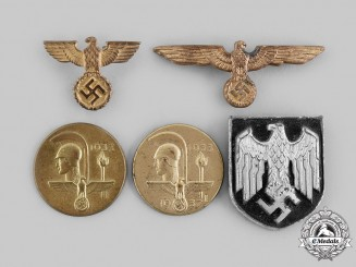 Germany, Third Reich. A Lot of Cap Insignia.