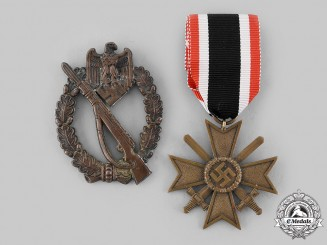 Germany, Wehrmacht. A Pair of Awards