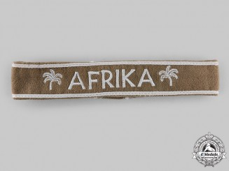 Germany, Wehrmacht. An Afrika Cuff Title, by Gotlieb Hausbrandt & Co.