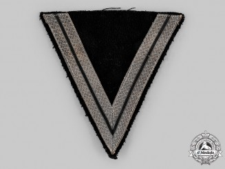 Germany, SS. A SS-Rottenführer Greatcoat Rank Chevron